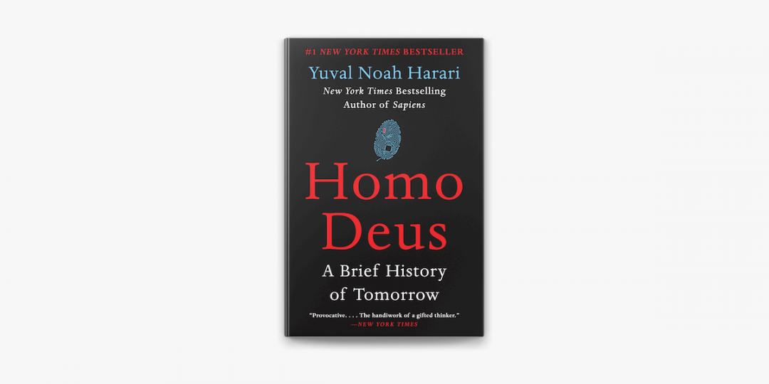 Homo Deus -Book cover